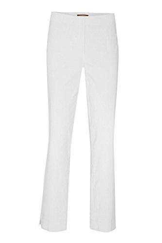 Fit nbsp;– Elástico Este Ina Tamaño Señoras Recto Pequeños Alto Cómodo Un nbsp;pants Pantalones White Corte Stehmann Más 740 Super Pantalones La Comprar qFf4Ezx