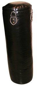 Lisaro Pofi Boxsack//Sandsack 150 cm Saco pesados de boxeo talla 150 X 35 cm color negro 50 kg