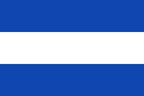 magFlags Bandera Large Tuy Pontevedra El paño Azul y al Centro una Franja Horizontal Blanca de un tercio del Ancho | Bandera...