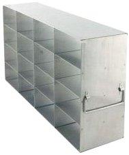 Alkali Scientific UF-443 Stainless Steel Cryostorage Box Rack for 3