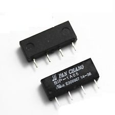 10 x SIP-1A05 reed relay 5V Voltage