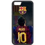 FC Barcelona Lionel Messi 1 Custom Phone Cases Design for iphone 6 Case with Black Laser Technology