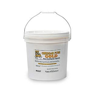 Beach City Wholesalers Cheddar Pure Gold Cheese 30 lb / 13.6 kg tub (1 count) by California Concessions Corp (Image #1)
