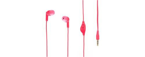 Griffin TUNEBUDS 3.5mm Stereo Handsfree Headset - Retail Packaging - Pink