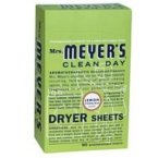Meyers Lemon Verbena Dryer Sheets ( 12x80)
