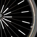 Glow Spokes Made with 3m Reflective Paint Fits Standard Bicycle Spokes