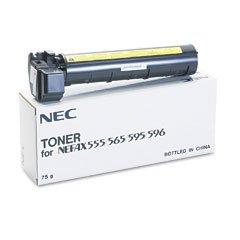 S2514 NEC S2514 Black Laser Toner Cartridge for the NEC Nefax-555 / 565 / 595 / 596 Laser Toner Fax - Genuine Oem Fax