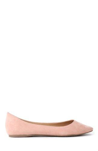 Breckelles Talia-01S Pointy Toe Ballet Flat