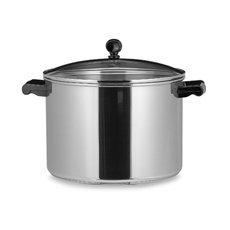 FaberwareÃ'Â Classic Series II 8 Quart Covered Stockpot Stainless Steel with Glass Lid by Farberware (Farberware 8 Quart Stock Pot compare prices)