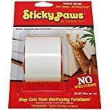 Sticky Paws Scratch Control Cat Training Aid | Scratch Deterrent