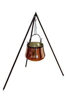 Dreibeinständer 160 cm - für Kessel bis 60L: Amazon.de: Küche & Haushalt