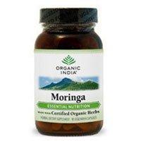 ORGANIC INDIA Moringa Powder Complex Superfood for Essential Nutrition Abundant in Vitamins, Minerals and Amino Acids Pure, Organic Moringa Oleifera Leaf Powder