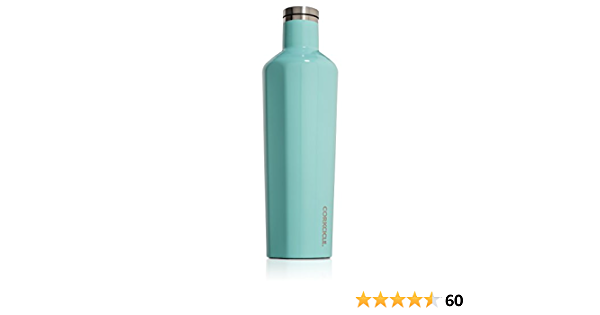 Corkcicle Canteen Water Bottle Brand New 16 oz//475 mL Gloss Purple