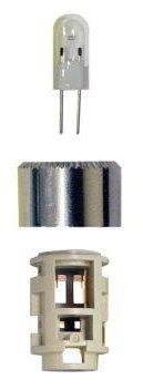(MAG lite -Num Star II 4-Cell C& D Flashlight Bulb Xenon Bi-Pin)