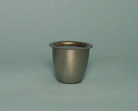 Platinum Crucibles 30 ml Lid by Electron Microscopy Sciences