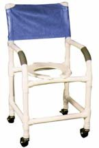 Standard Deluxe PVC Shower Commode Chair