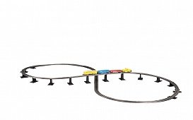 Bachmann Steel Alloy E-Z Track Over-Under Figure 8 Track Pack ()