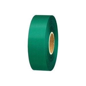 生活日用品 (業務用100セット) カラーリボン緑 24mm×25m B824J-GR B074JXWXJM