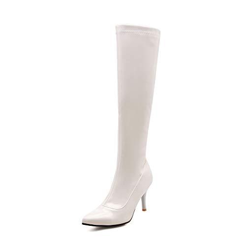 Bianco Donna Sandali Eu 1to9 Con Zeppa white 35 Mns02989 wZIOqP