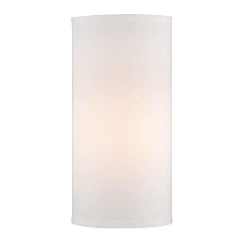 SUNWO Candle Holder, Frosted Glass Chimney for Candle Open Ended, Frosted Glass Hurricane Candle Holders of Any Size (2.5/3/3.5/4/4.7/5/5.5/6/8 Inch)