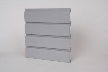 HandiWall Slatwall Panels - 8 Foot (Gray) (Handisolutions Wall)