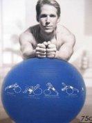 Reebok TrainerBall Exercise Ball 75 cm Blue