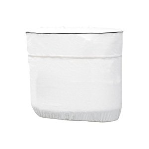 Classic 79714 RV Propane Tank Cover, Model 1, White, Fits Single 20-5 Gallon Tanks