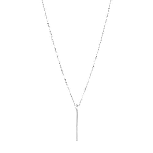 Minimal Chic Hanging Vertical Necklace