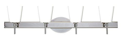 Four Matte 5 Canto - Besa Lighting 4SW-513107-LED-CR Canto 5-30.38