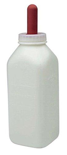 (DavesPestDefense Calf Bottle & Screw On Nipple Little Giant 2 Quart)