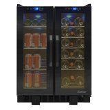 Vinotemp VT-36TS Touch Screen Wine and Beverage Cooler, Black