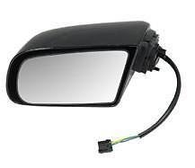 Driver Door Mirror Power Only Smooth Black NEW 90-96 Buick Regal Pontiac Grand Prix 88896759 GM1320114 ()