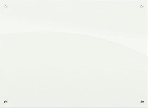 - Best-Rite 83940 Enlighten Glass Dry Erase Whiteboard, Glossy White 1/8 inch Tempered Glass, 3 x 4 Feet