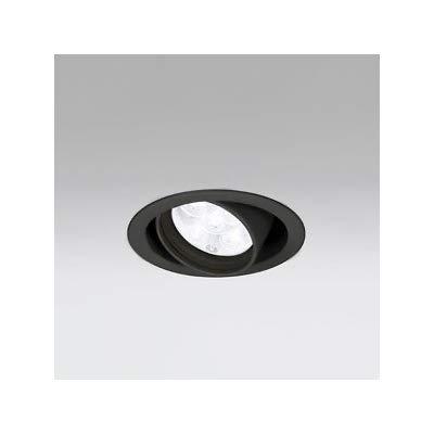 LEDユニバーサルダウンライト M形 φ100 JR12V-50W形 LED5灯 配光角27°非調光 ブラック 白色形 4000K B07RZNJP56