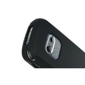 Black Treo Skin (Palm Treo 800w Black Silicone Skin Case Cover)