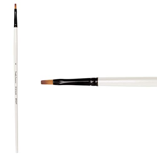 Simply Simmons Oil and Acrylic Brush Synthetic Bright LH 4