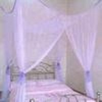 4 Poster / Four Corner Purple Bed Canopy Mosquito Net Full Queen King & Amazon.com : 4 Poster / Four Corner Purple Bed Canopy Mosquito Net ...