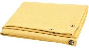 10' x 10' 28 oz Yellow/Gold Fiberglass GOLDENGLASS Blanket/Curtain