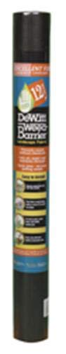 Dewitt Black 3-Foot by 50-Foot 3oz Weed Barrier Pro Landscape Fabric PBK350