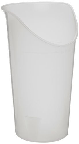 Ableware 745930614 Clear Nosey Cup Clear (Box of 6) by Maddak ()
