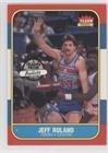 1986 Fleer Basketball Cards - Jeff Ruland (Basketball Card) 1986-87 Fleer - [Base] #96