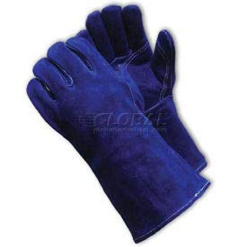 PIP Welder's Gloves, Side Split W/Cotton Foam Lining, Blue, L (73-7080)
