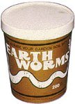 Beneficial Red Wriggler Earthworms for Gardern & Compost 200 Count