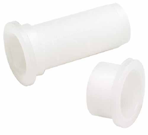 Drain Tube 3/4x2-1/2 Plastic by SEACHOICE