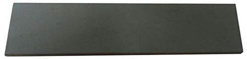 SCHERENKAUF XXL Lederabziehriemen, Abziehleder 30cm x 7cm (Leder Natur, mit Grauer SIC-Polierpaste behandelt)
