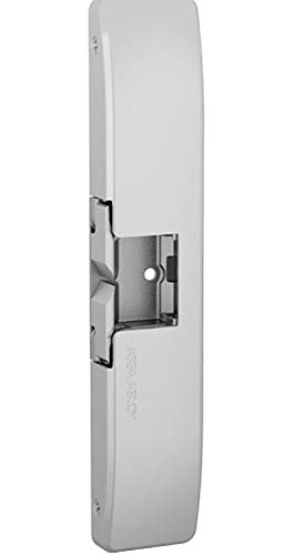 HES 9600 Electric Strike. The Stylish Windstorm Resistant, Surface Mounted Solution. Satin Stainless Steel (630), Dual Voltage (12/24 VDC/VAC)