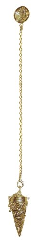 Premium Pagan Pentacle Gold Chamber ()