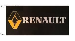 RENAULT Flag Banner 5 x 2.5 Turbo Megane Rally 4CV