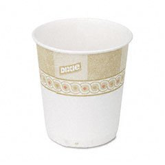 DXE45SCDX - Dixie Sage Design Paper Water Cups - Dixie Paper Water Cups