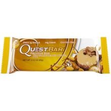 Quest Chocolate Peanut Butter Protein Bar, 2.12 Ounce - 12 per case.